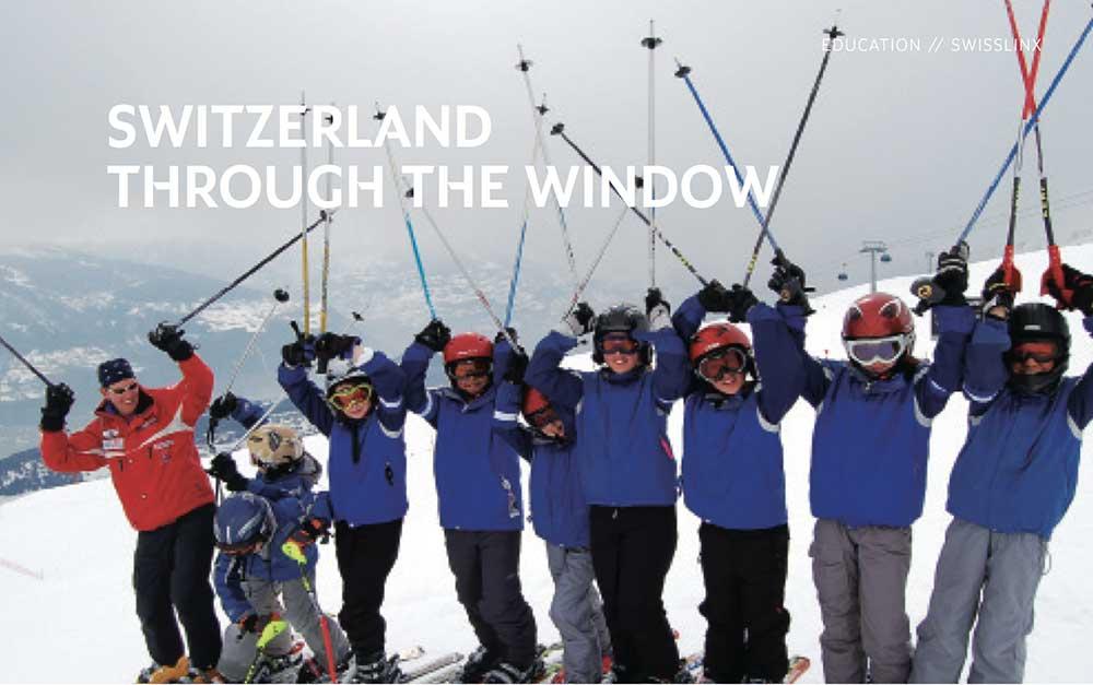 Switzerland Through The Window